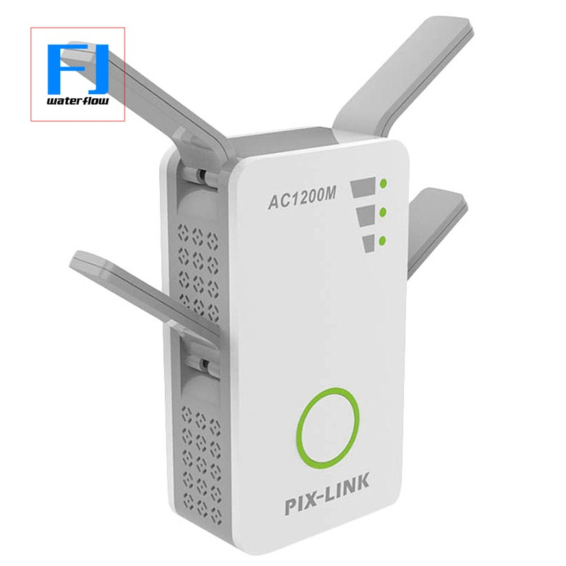 Pix-link Wireless Dual Band Ac 1200M 2.4Ghz/5Ghz Mini Router Wifi Range Repeater With 4 Externa Giá chỉ 968.000₫