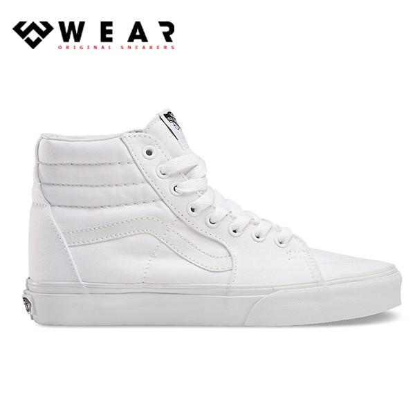 Giày Sneaker Unisex Vans Sk8 Hi All White - VN000D5IW00