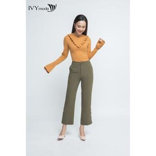 [Mã WABR1550 - 10% - ĐH từ 250K]Áo len Nữ cổ cách điệu tay xòe IVY moda MS 58B4651 thumbnail