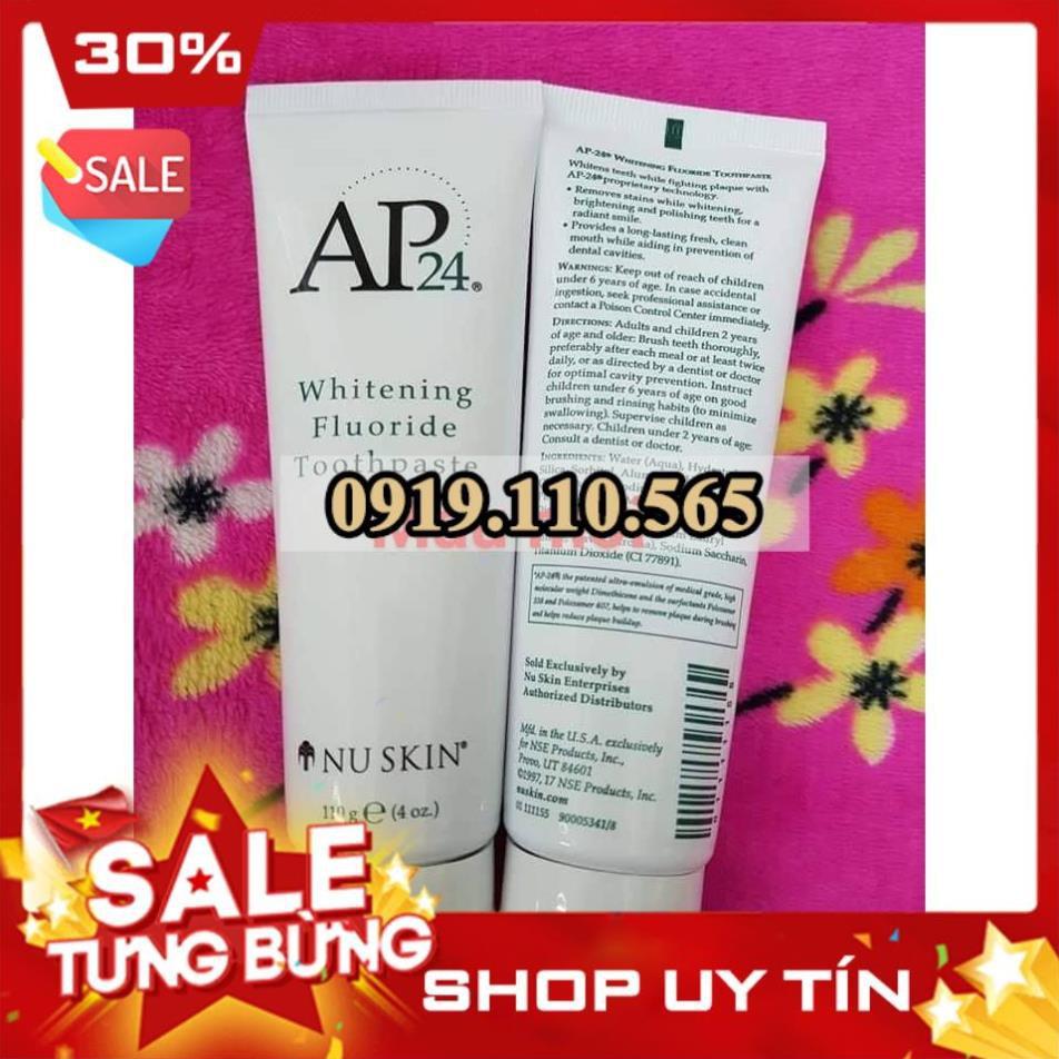 Kem đánh răng ap24 xách tay mỹ kèm túi trắng chính hãng - 22519755 , 6614340050 , 322_6614340050 , 130000 , Kem-danh-rang-ap24-xach-tay-my-kem-tui-trang-chinh-hang-322_6614340050 , shopee.vn , Kem đánh răng ap24 xách tay mỹ kèm túi trắng chính hãng