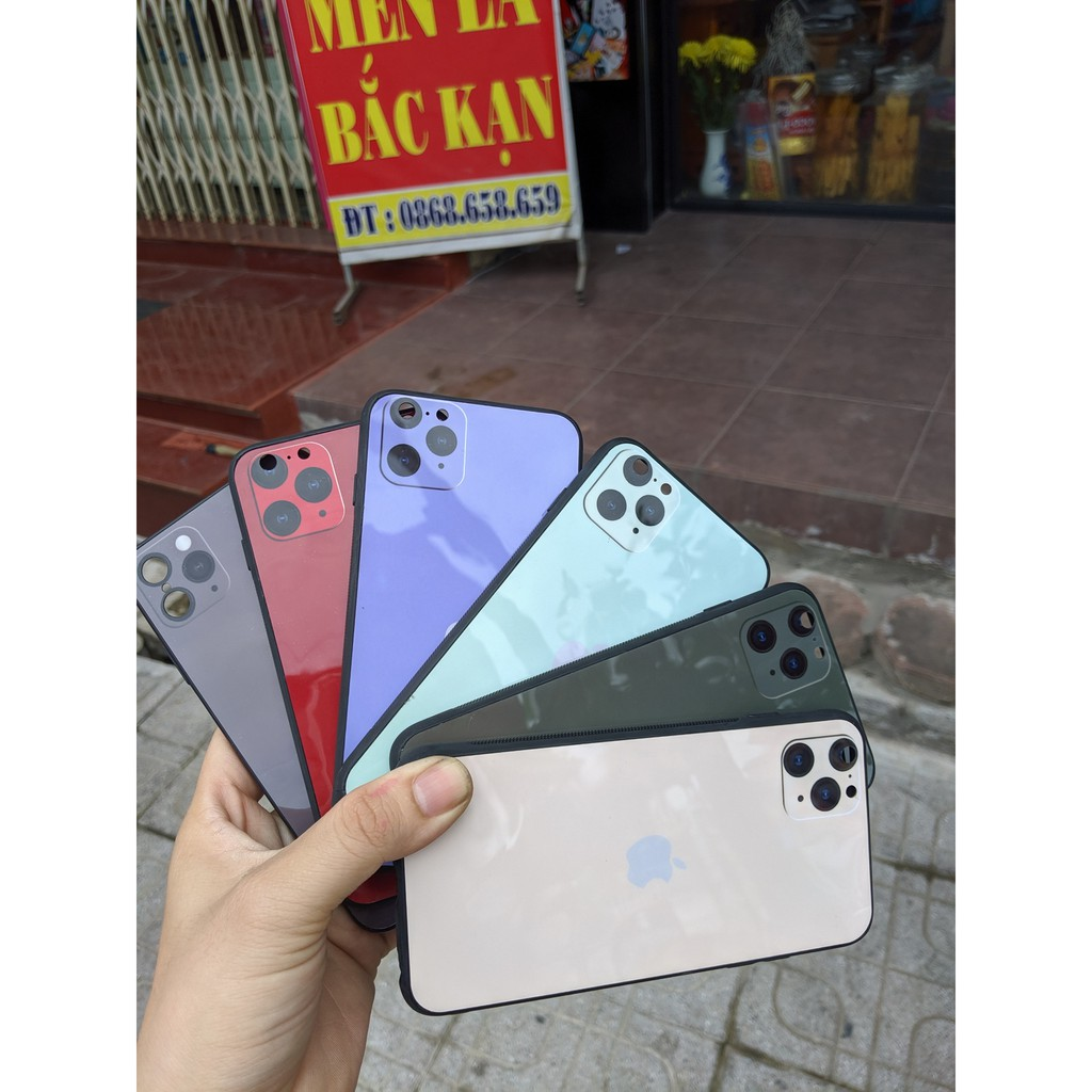 ốp giả iphone 11 pro max cho iphone XR