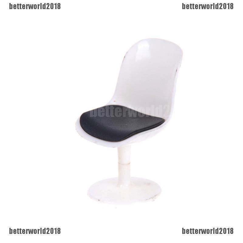 Ghế nhựa mini DIY dùng để trang trí nhà búp bê tiện dụng thumbnail