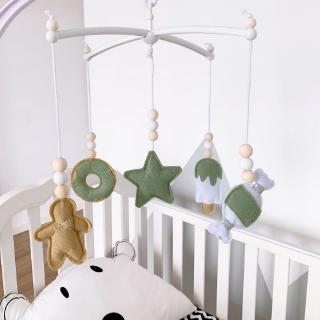 SOME Baby Crib Mobile Rattle Felt Wind Chime Pendant Bed Bell Toys Kids Room Decor