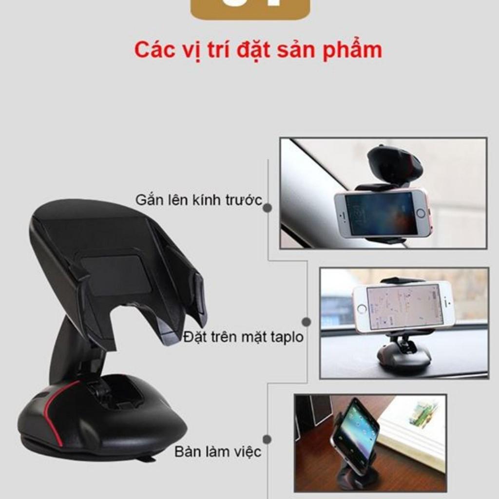 Giá đỡ kẹp điện thoại cho ô tô hình chuột