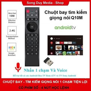Chuột Bay Tìm Kiếm Giọng Nói Q10M   tz20   rt king Tương thích Mibox s, Beelink, Mecool, w95, x96 air, em95s > kiwi v6