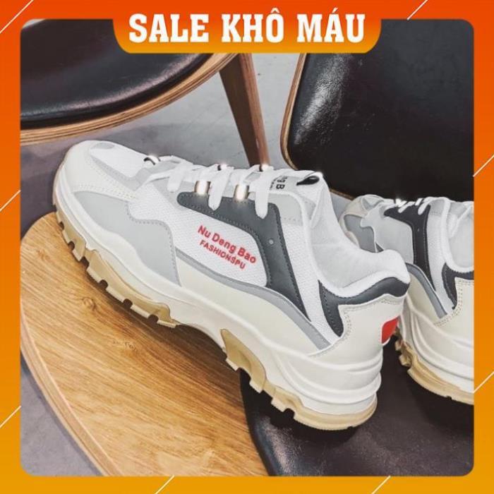 [FreeShip - Khuyến mại sốc] Giày thể thao nam, giày sneaker nam phối màu năng động 263
