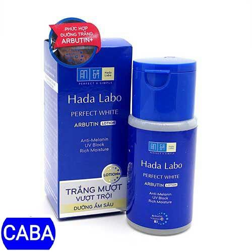 Hada Labo perfect white Lotion dung dịch dưỡng trắng và dưỡng ẩm 100ml (hộp xanh)