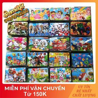 Tranh Xếp Hình 100 Mảnh Ghép Hình Bằng Gỗ Cho Bé 1-10 Tuổi