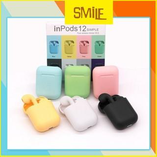 Tai Nghe Bluetooth Airpod i12(nhiều màu)TWS Cảm Biến Vân Tay (có Ảnh + Video)