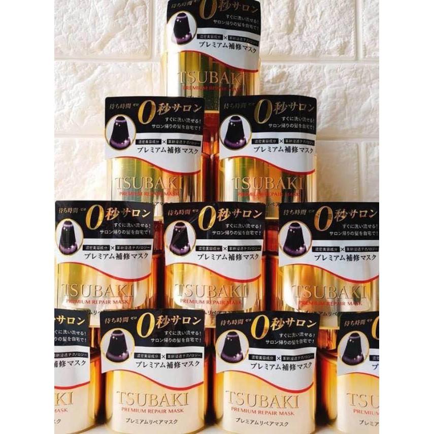 (chất lượng) kem ủ tóc tsubaki vàng cao cấp