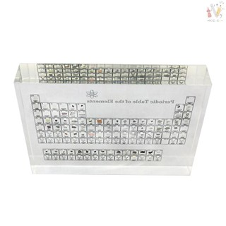 ❤ COD Acrylic Periodic Table Display of Elements Chemical Elements Table Teaching Supplies