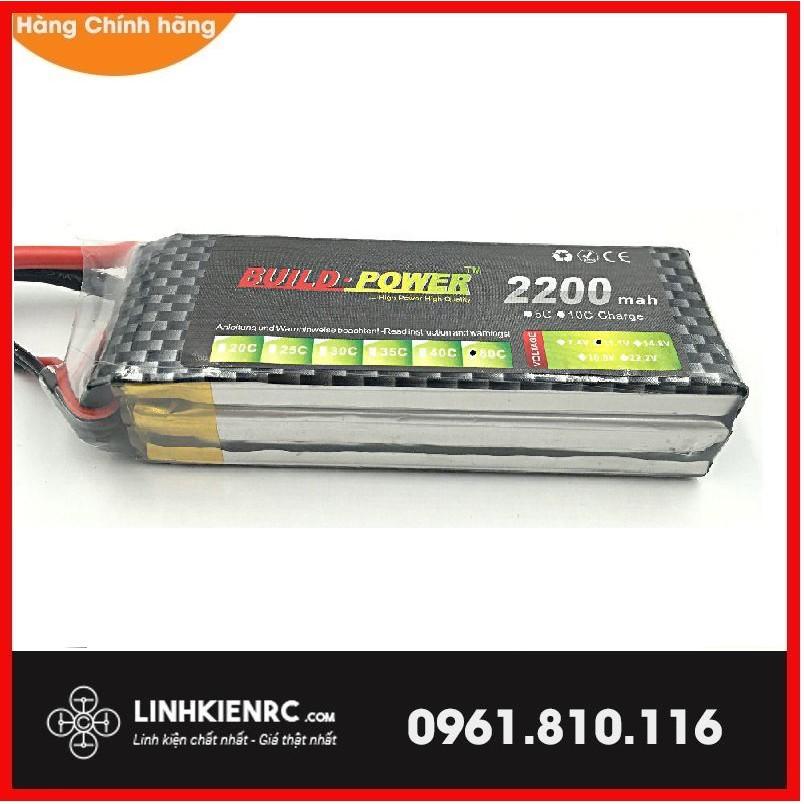 Pin 3s 11.1v 2200mAh ZOP , Build Power 2200mah xịn