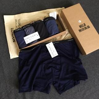 quần lót nam nhật. set hộp 5c full tag mác [ẢNH THẬT]