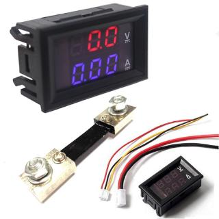 """Đồng hồ đo điện áp dòng điện kỹ thuật số hiển thị kép DC 0-100V 10A 50A 100A giá chỉ còn <strong class=""""price"""">2.610.000.000đ</strong>"""