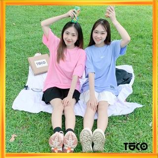 Áo thun Unisex TUCO dành cho đôi bạn thân, couple Basic Tee phông cotton trơn nam nữ tay lỡ oversize form rộng nhiều màu
