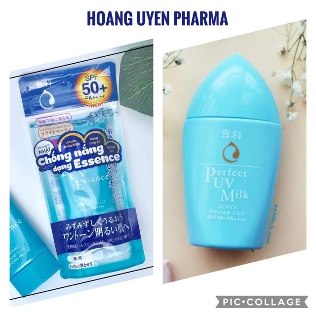 Tinh chất/ Sữa chống nắng Senka Perfect UV Essence/ Milk - Milk 40ml