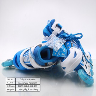 Giày trượt Patin Chaoku II trượt siêu êm, chạy siêu mượt – Giay truot Patin cao cap – Trungbay68.com