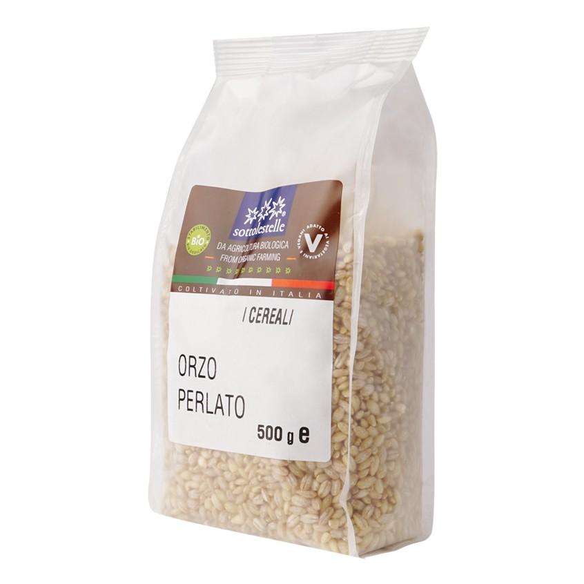 Hạt ý dĩ ( lúa mạch ngọc trai ) hữu cơ Sotto 500g Organic Pearl Barley