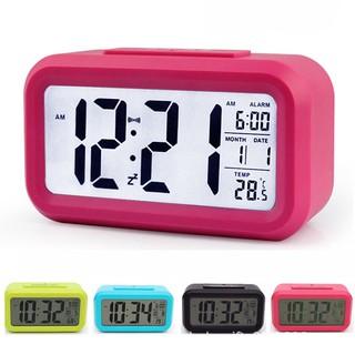 Đồng hồ báo thức điện tử để bàn màn hình LCD DH89