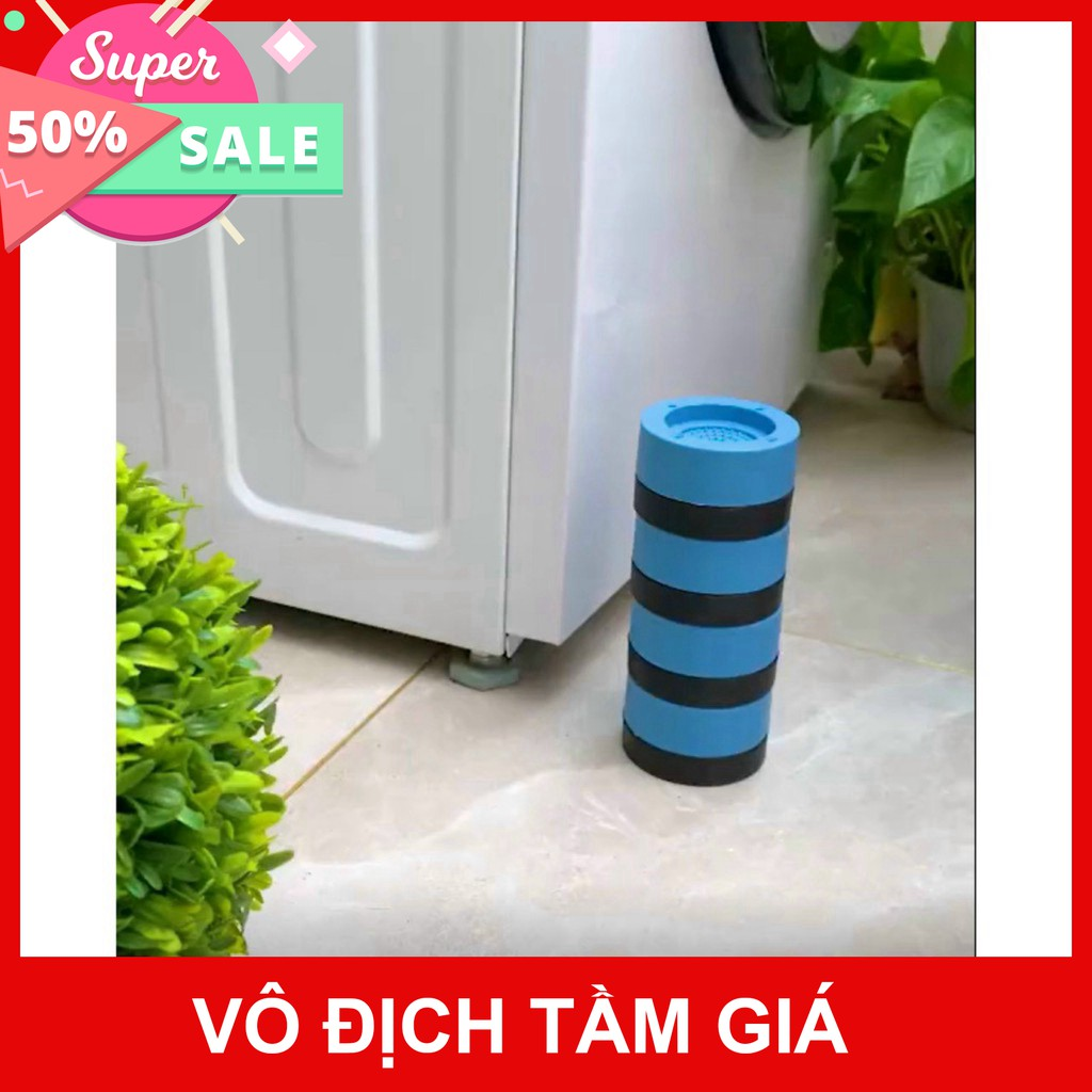 Combo bộ 4 mẫu chống rung máy giặt giúp máy giặt hoạt động ổn định. không rung lắc