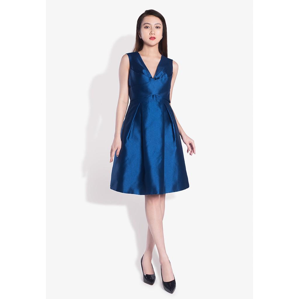 Đầm taffeta đai chéo màu xanh - 3605177 , 1313466727 , 322_1313466727 , 2150000 , Dam-taffeta-dai-cheo-mau-xanh-322_1313466727 , shopee.vn , Đầm taffeta đai chéo màu xanh