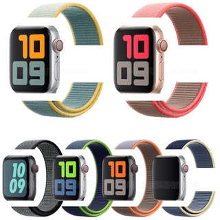Nylon strap for Apple watch strap 44mm 40mm 42mm 38mm Wrist strap for iWatch series SE 6 5 4 3 2 38 40 42 44mm thumbnail