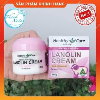[Hàng Úc Mã AUS9396 Giảm 100K] Kem Dưỡng Trắng Da Mỡ Cừu Healthy Care Lanolin Cream thumbnail