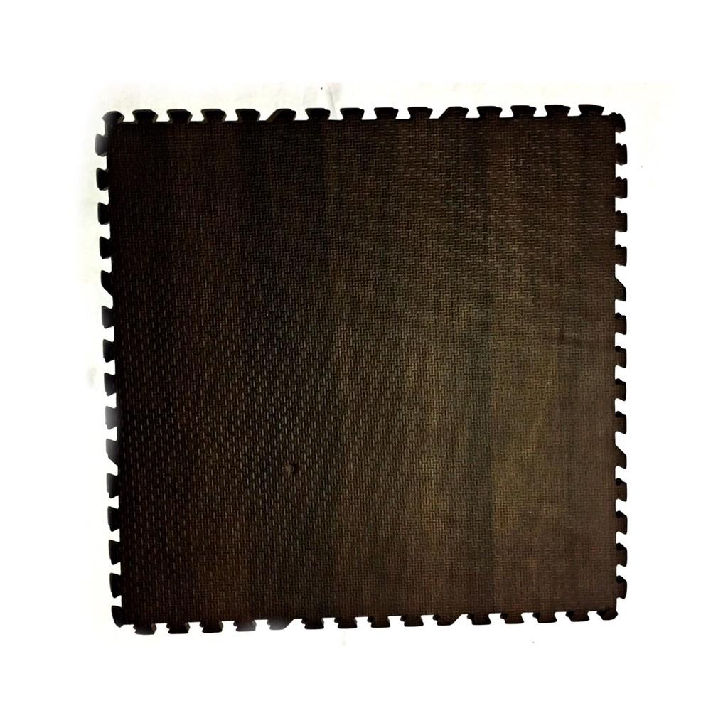 Thảm Xốp Lót Sàn Trang Trí Vân Gỗ Kích Thước 45x45 CM, Dày 1Cm Cho Không Gian Sang Trọng