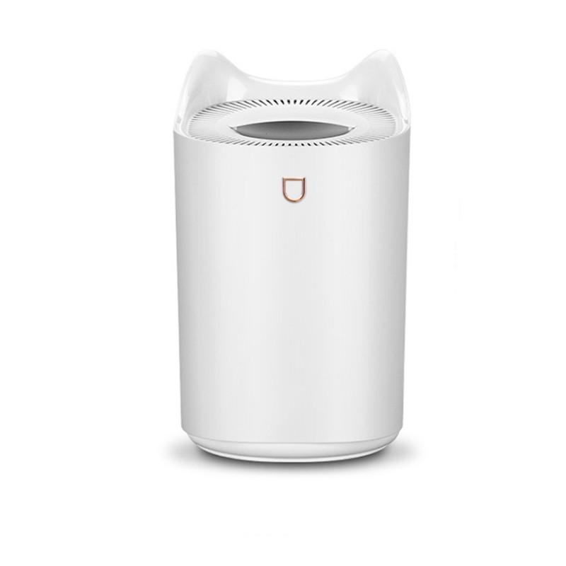 [Cỡ lớn - Có đèn] Máy tạo độ ẩm không khí HUMIDIFIER, 3 lít, cổng cắm USB, Bảo hành 06 tháng