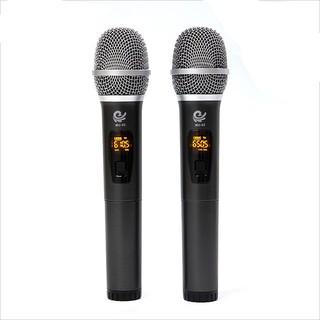Cặp 2 micro hát karaoke cực hay cao cấp MU-02 chuyên dụng cho loa kéo, amply