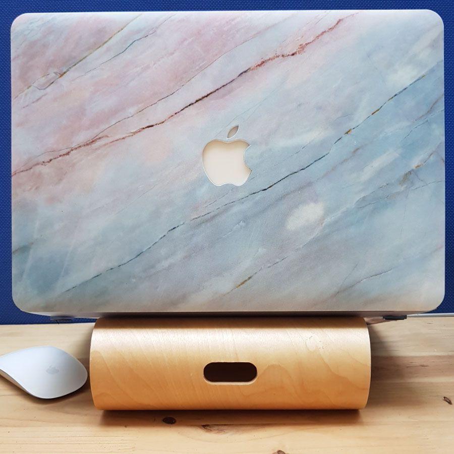 Ốp Macbook hình Vân Đá Màu ( tặng phủ phím ngẫu nhiên + nút chống bụi )