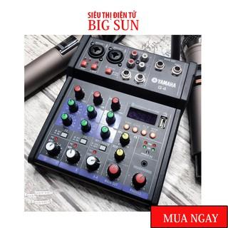 Bộ Mixer Yamaha G4 USB - Bộ trộn âm thanh Mixer Chuyên Karaoke, Livestream, Thu Âm Cao Cấp - Tặng Kèm 2 Micro Không Dây thumbnail