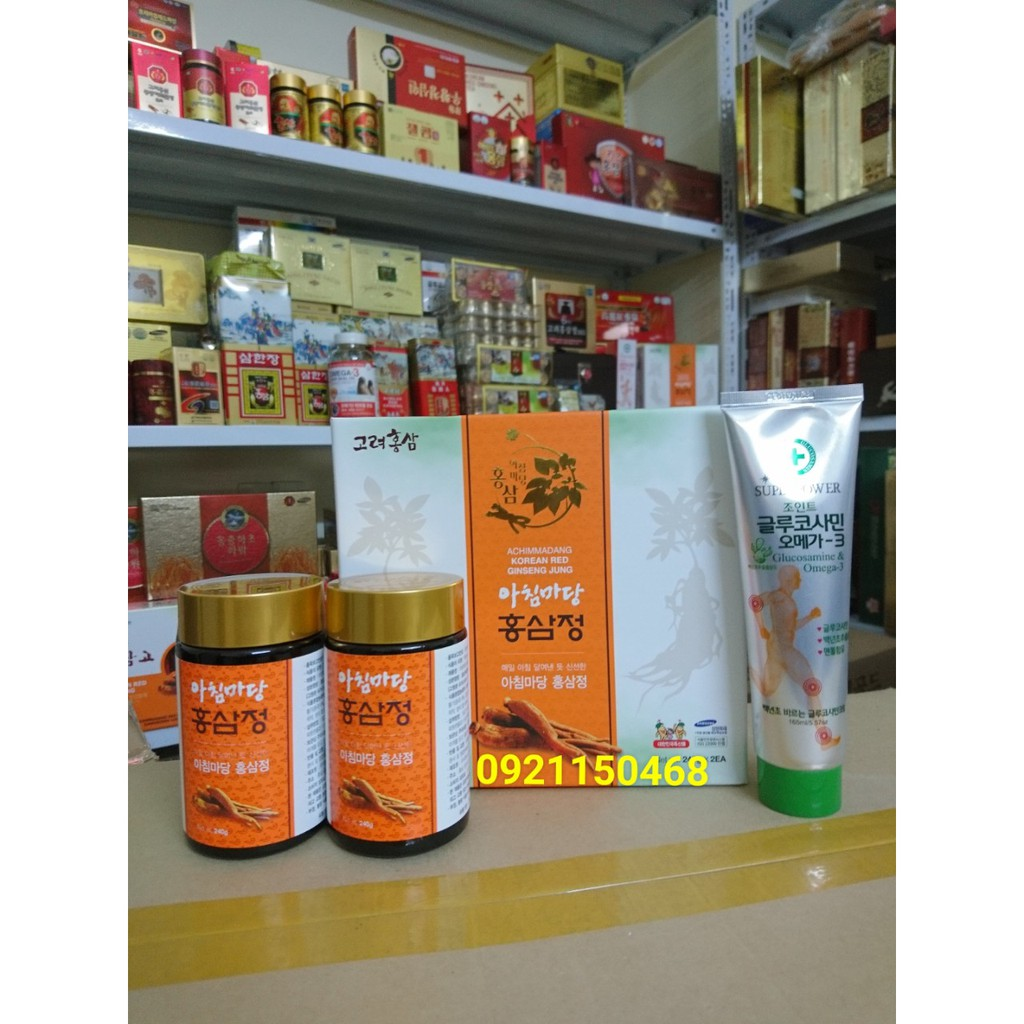 COMBO Cao hồng sâm Achimmadang + dầu lạnh xoa khớp cao cấp - 2936616 , 1307869699 , 322_1307869699 , 688000 , COMBO-Cao-hong-sam-Achimmadang-dau-lanh-xoa-khop-cao-cap-322_1307869699 , shopee.vn , COMBO Cao hồng sâm Achimmadang + dầu lạnh xoa khớp cao cấp