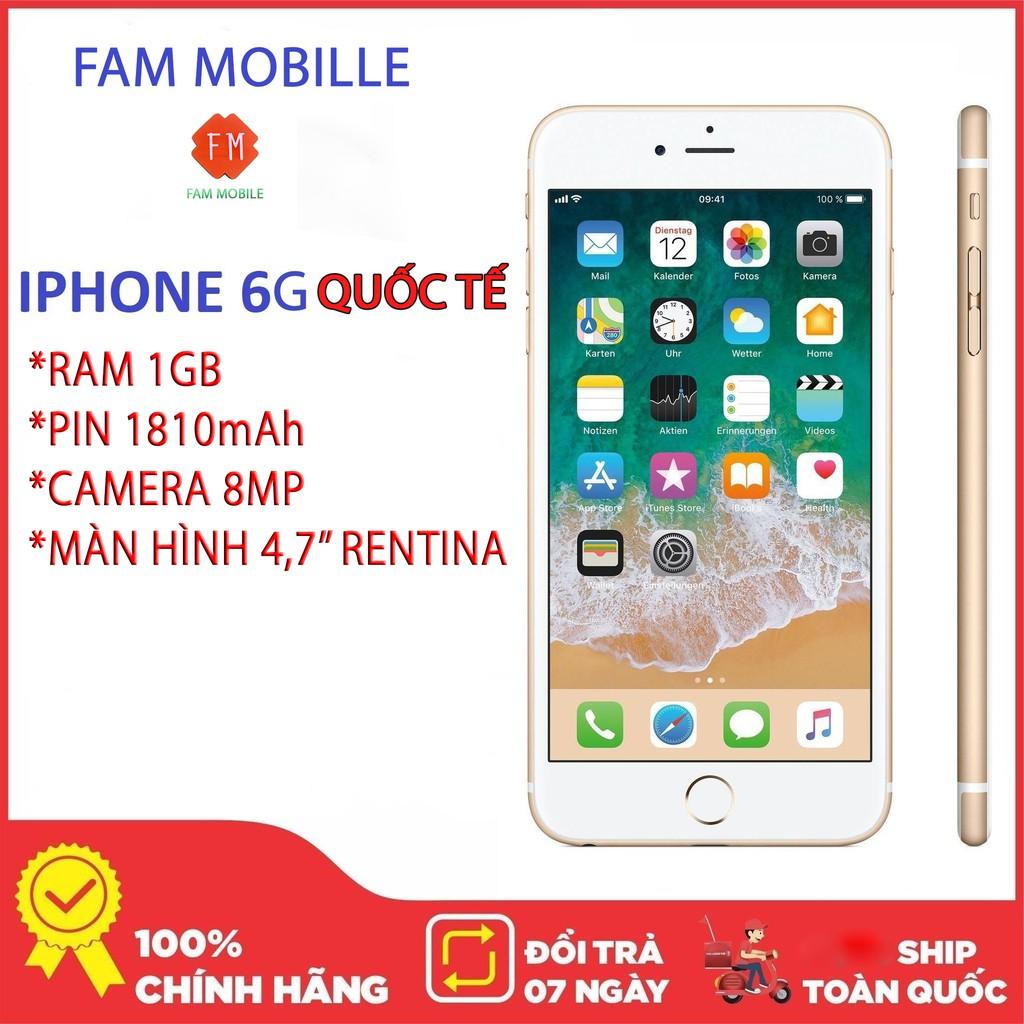 Bán điện thoại Iphone 6G 34gb, 16GB Quốc Tế