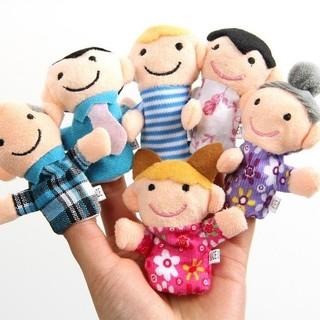 Nini_kids: Set rối ngón tay gia đình