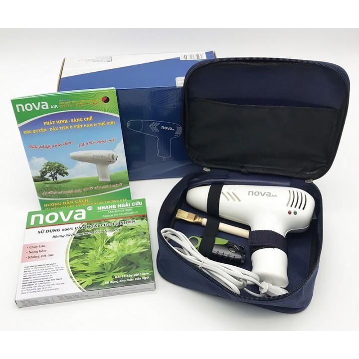 Máy Cứu Ngải Nova - Máy Cứu Ngải Hải Phòng Mẫu Mới 2020 Cải Tiến Buồng Tăng Áp, Xông Ngải Cứu Chữa Xương Khớp, Đau Lưng