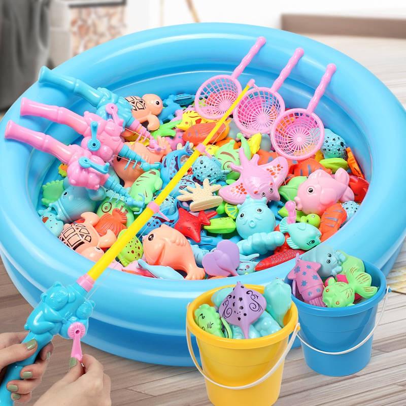 Bộ đồ chơi câu cá nam châm hình vuông cho trẻ em