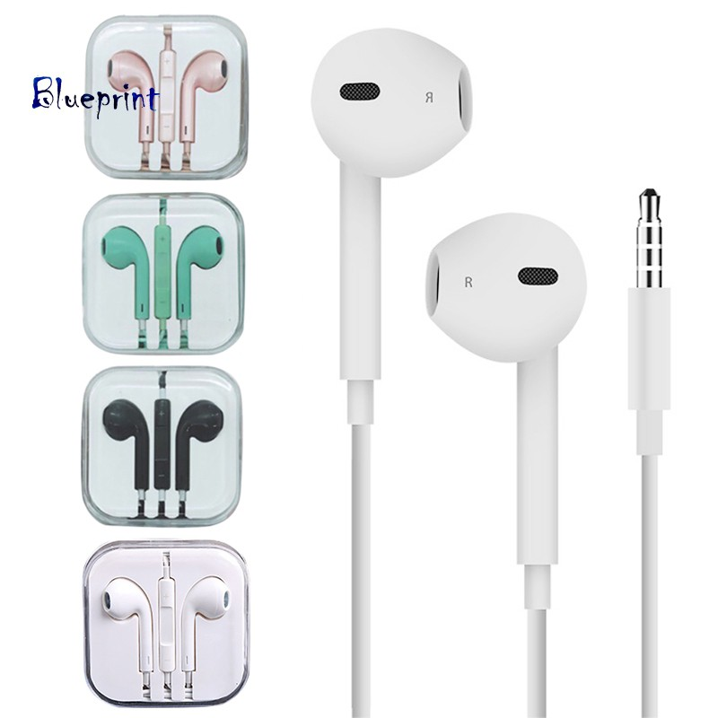 ☞BP3.5mm Plug Heavy Bass In-ear Wired Earphones for iPhone Android Phone Tablet