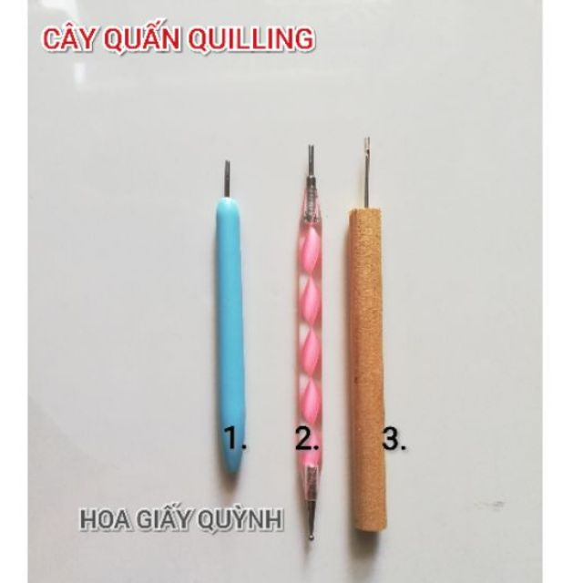 CÂY QUẤN QUILLING