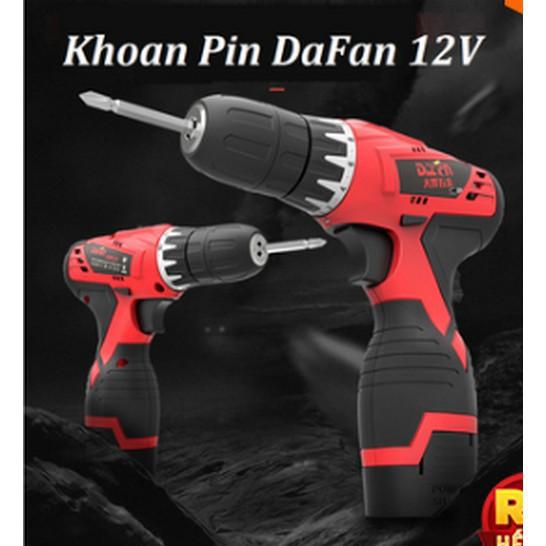 [Lỗi 1 Đổi 1] Máy Khoan Pin 12V Daifan Freeship