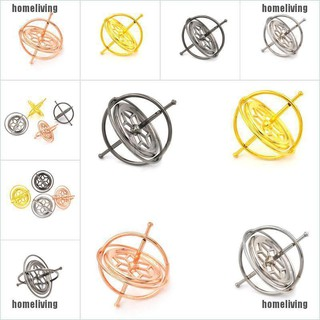 【homeliving】Creative Metal Gyroscope Spinner Gyro Science Educational Learning Balance