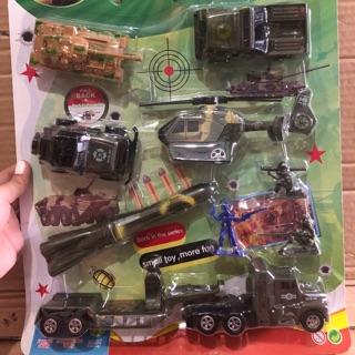 Bộ xe quân sự