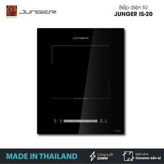 Bếp đơn điện từ Junger IS-20 - Công suất 2200W - mặt kính Ceramic | Bảo hành 12 tháng chính hãng | MADE IN THAILAND