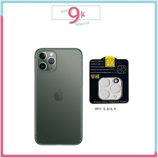 Dán BẢO VỆ CAM TRONG SUỐT cho iPHONE 11 PRO ( 5.8 ) 11 PROMAX ( 6.5 ) thumbnail