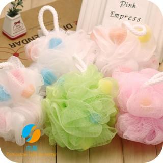 Large bath ball bath ball bath flower bath ball Japan natural baby sponge bath ball bubble net bubble ball