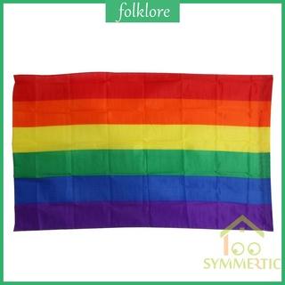 Cờ Cầu Vồng Tượng Trưng Cho LGBT 3x5ft 90x150cm