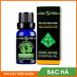 Tinh dầu Bạc Hà Peppermint thơm phòng đuổi muỗi - nguyên chất thiên nhiên AROMA thumbnail