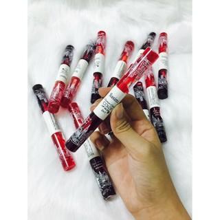 Son tint nước 2 đầu 2 màu Đỏ tươi và đỏ cherry ( Hàng chính hãng ) thumbnail