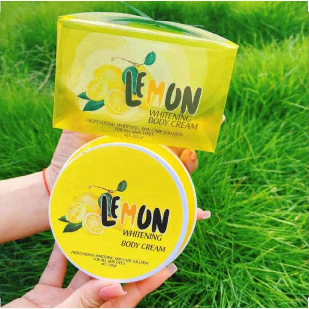 Kem Body Cao Cấp Lemon Chanh Kích Trắng Da