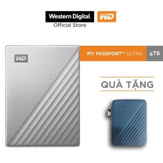 """Ổ Cứng Di Động WD My Passport Ultra Silver -4TB ( 2.5"""" USB 3.0 )-"""